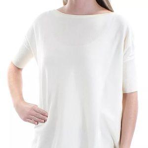 RALPH LAUREN Women's Bateau Neck Short Sleeve Top